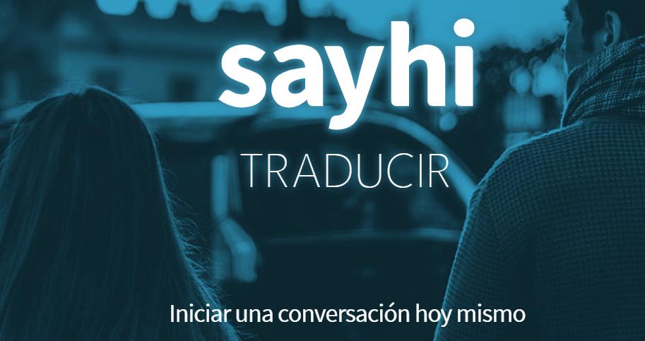 SayHi traducir 5 Mejores Apps para Traducir Cualquier Idioma