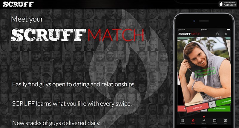 Scruff App Gay de Citas LGBTQ Scruff, App Gay de Citas LGBTQ, Match, Viajes y Eventos