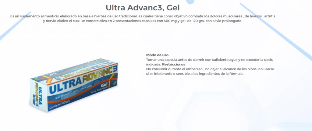 Ultra Advanc3 Gel 1 Ultra Advance 3 ¿Qué es?, Cómpralo Cerca de Ti
