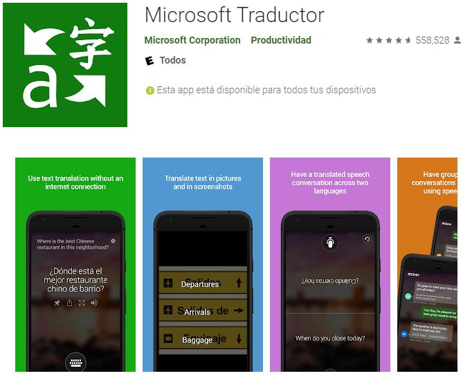 aplicacion Microsoft Traductor 5 Mejores Apps para Traducir Cualquier Idioma