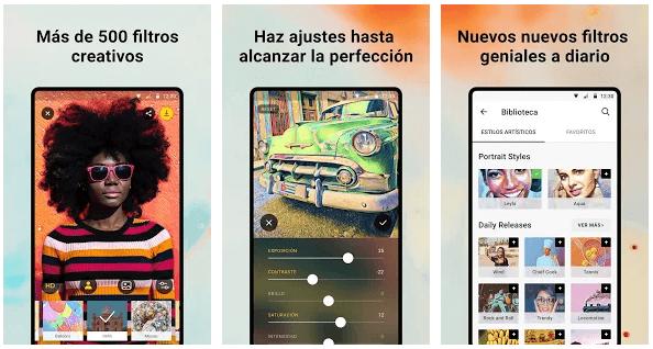 app filtros pinturas obras de arte App Prisma, Retratos como Picasso y Munch de tus Fotos