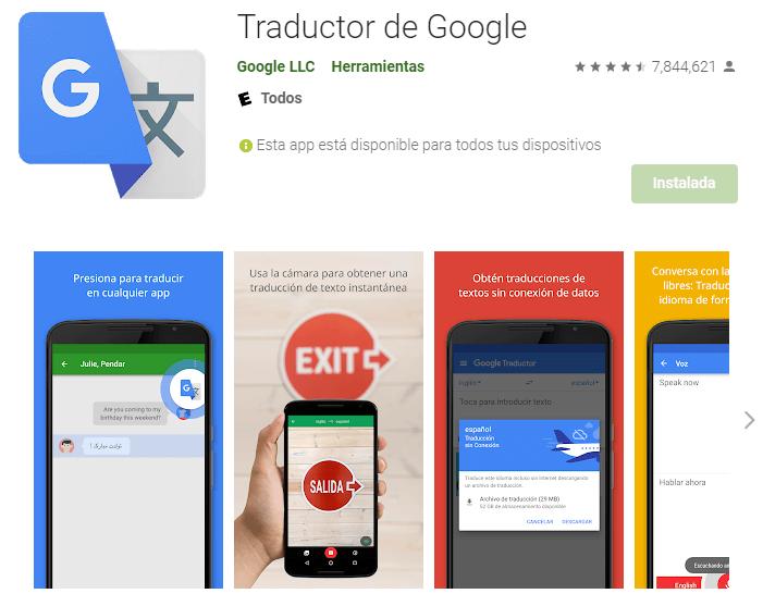 app traductor google 5 Mejores Apps para Traducir Cualquier Idioma