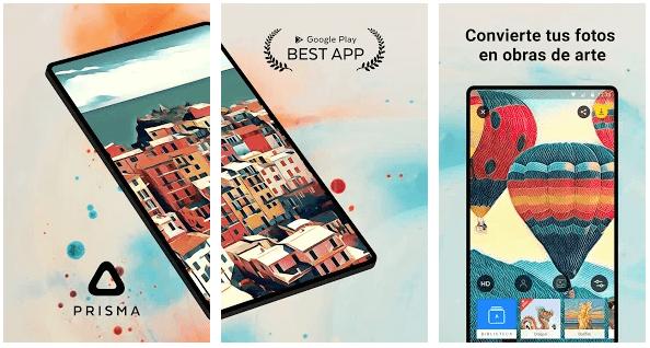 convertir fotos obras de arte App Prisma, Retratos como Picasso y Munch de tus Fotos