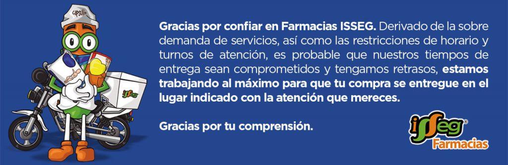 isseg servicio a domicilio 1 Farmacias Isseg Servicio a Domicilio
