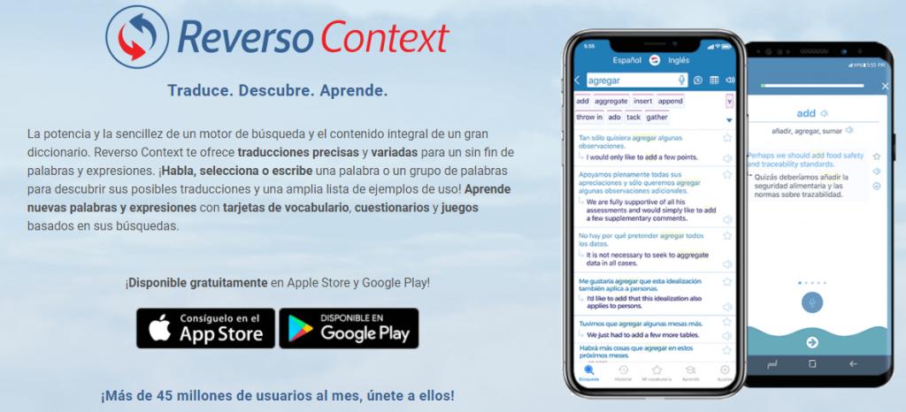 traductor Reverso diccionario traductor 5 Mejores Apps para Traducir Cualquier Idioma